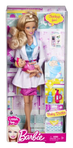 Compare Barbie I Can Be Baby Doctor Doll Vs Newborn