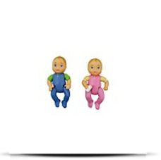 Buy Now Twin Babies Boy And Girl Doll Figures