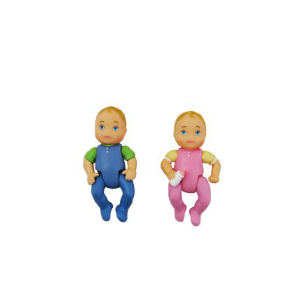 Twin Babies Boy And Girl Doll Figures